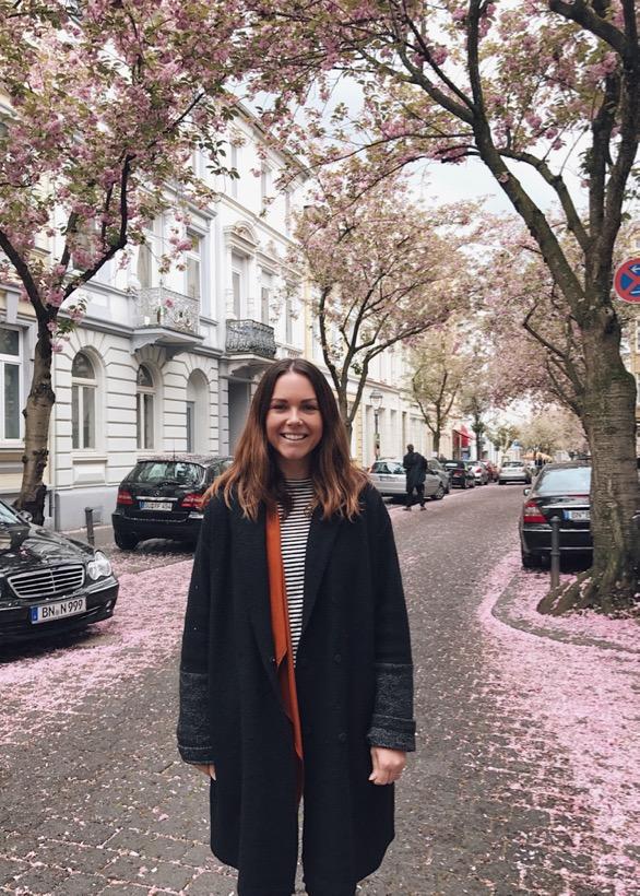 Heerstrasse, cherry blossom, cherry blossom street, instagram ideas