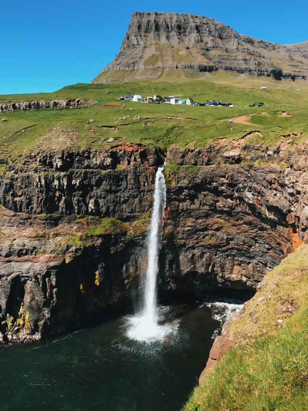 Gasadalur: island of Vagar, Faroe Islands
