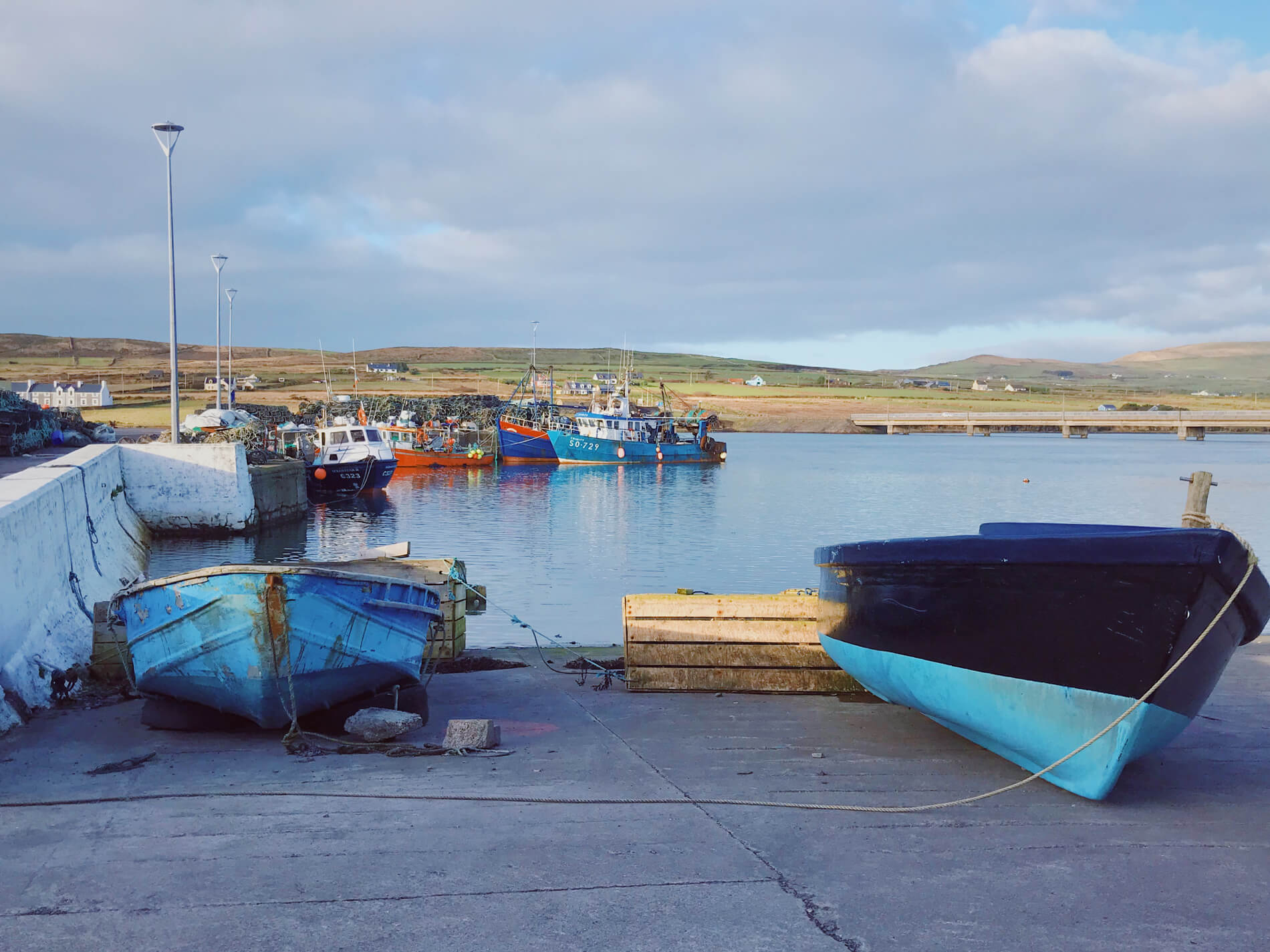 Quiet and still Portmagee