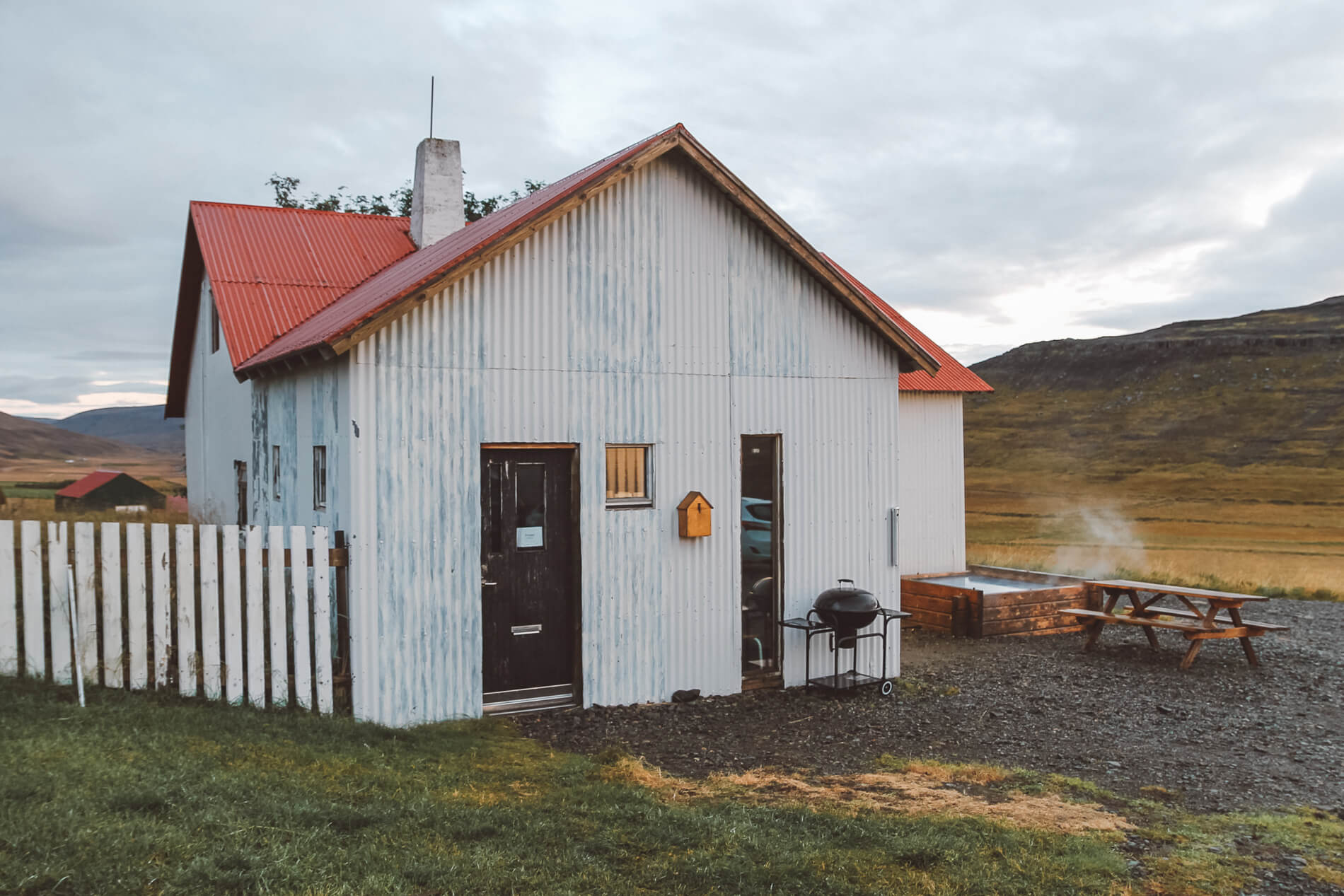 Airbnb farmhouse west Iceland outdoor pool, iceland airbnb, west iceland, iceland itinerary, off the beaten path iceland