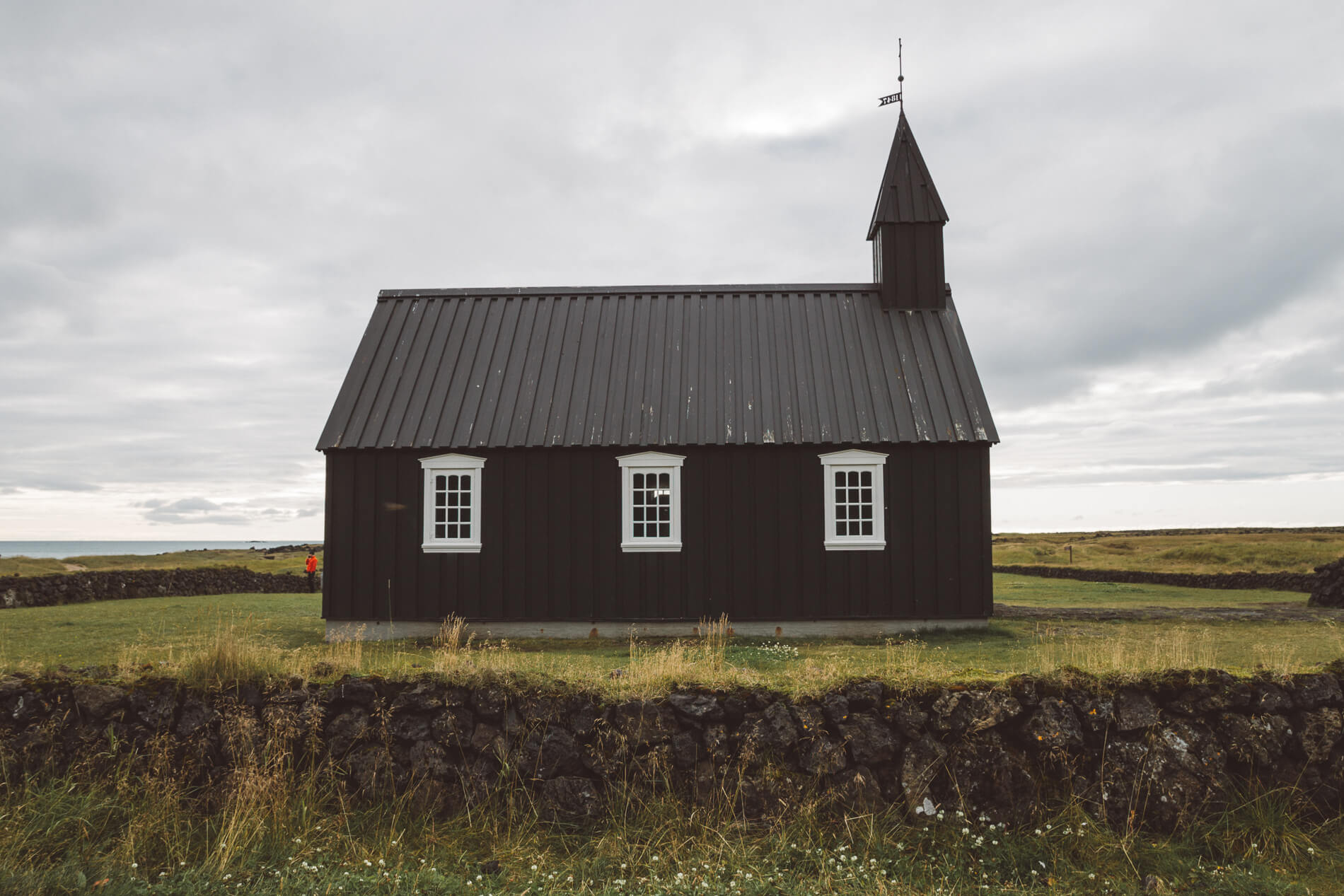 west iceland, iceland itinerary, off the beaten path iceland, budir black church