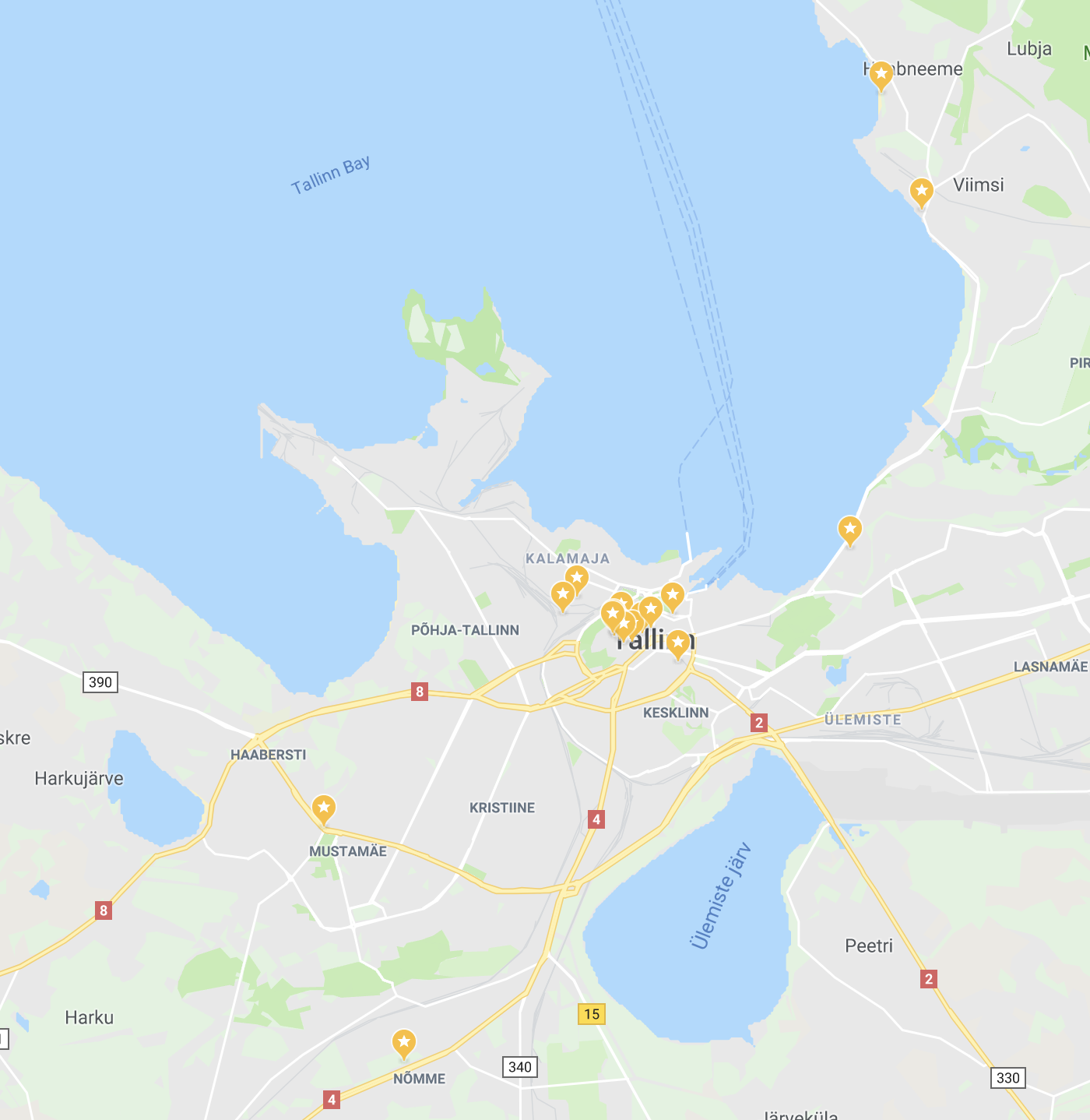 Foodie hotspots in Tallinn map, tallinn restaurants, things to do in tallinn, estonia restaurants