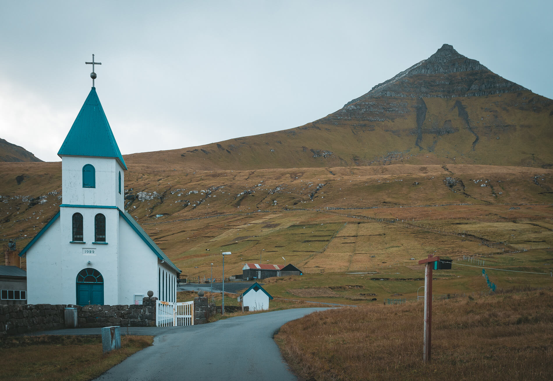 Church at Gjogv, faroe islands facts, visit faroe islands