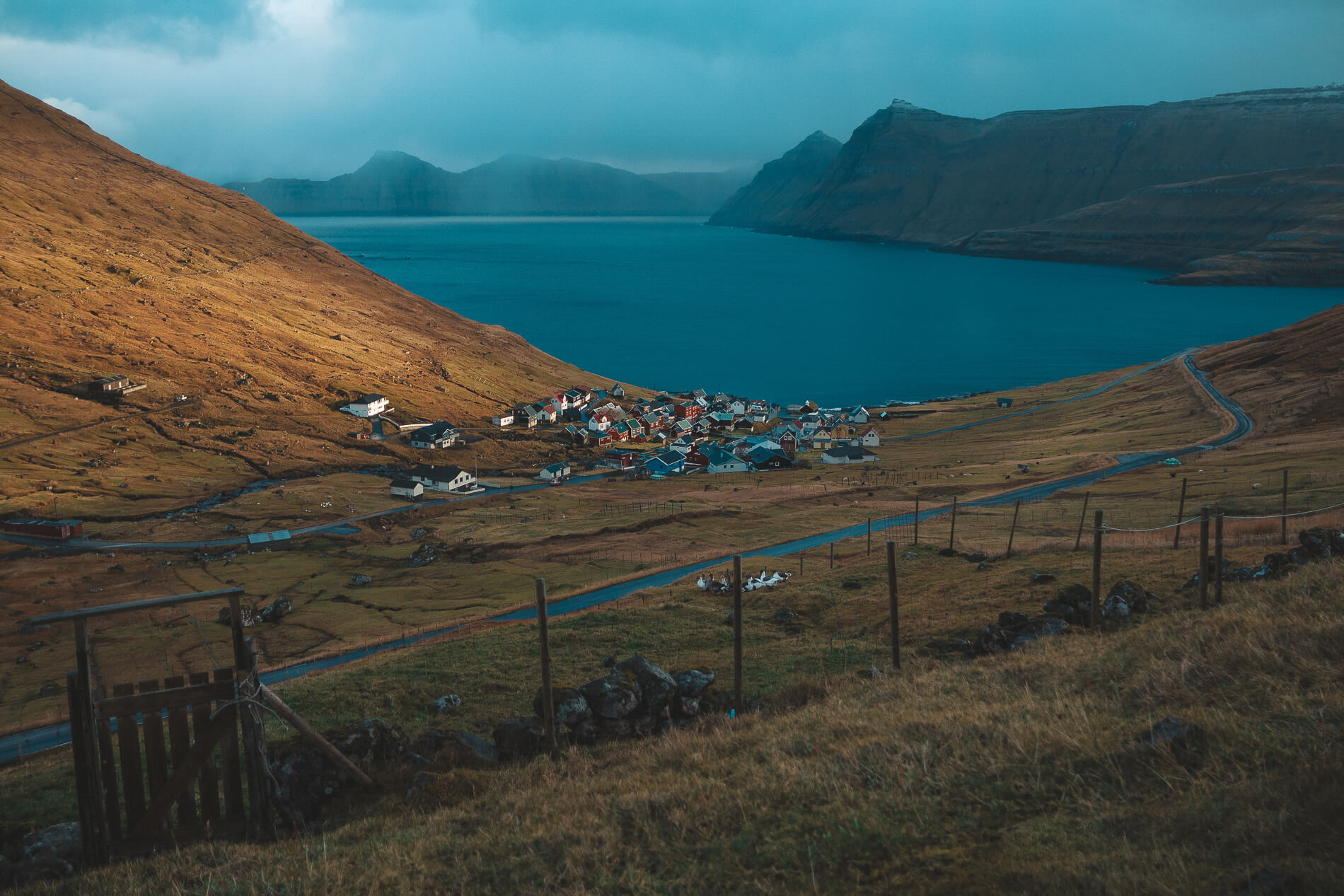Funningur village Faroe Islands, faroe islands facts, visit faroe islands