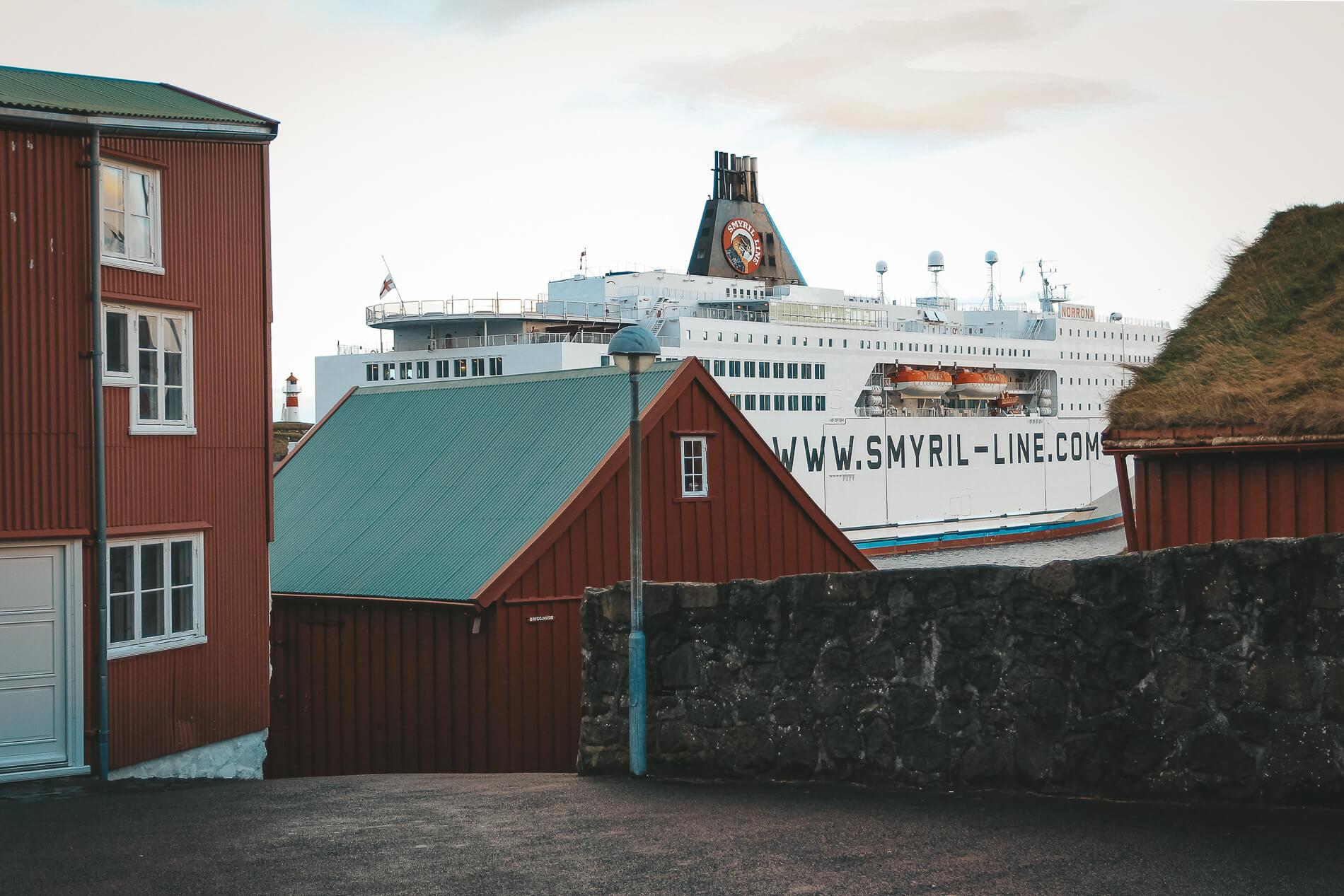 Torshavn Smyril Line Ferry, faroe islands facts, visit faroe islands